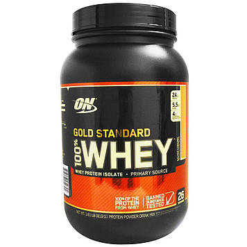 Whey Gold Standard (819 g) 100% Optimum Nutrition