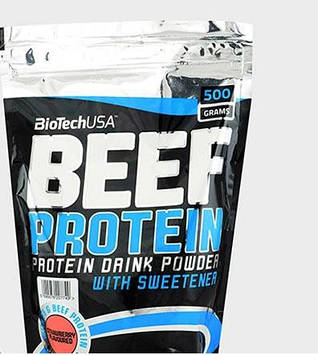 Протеин BEEF Protein (500 g) BioTech