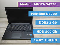 "Ноутбук б/у Medion AKOYA S4220 14.0"" Full HD/Intel N3700/DDR3 2GB/HDD 500Gb"