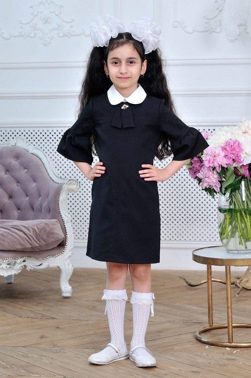 Платье для девочки школьное р.6-14 лет опт