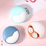 Навушники бездротові блютуз-гарнітура з зарядним кейсом 500 мА * ч. Wi-pods K10 навушники Bluetooth 5.0 Рожеві, фото 5