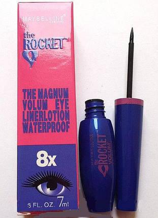 Подводка Maybelline The Rocket водостойкая , фото 2