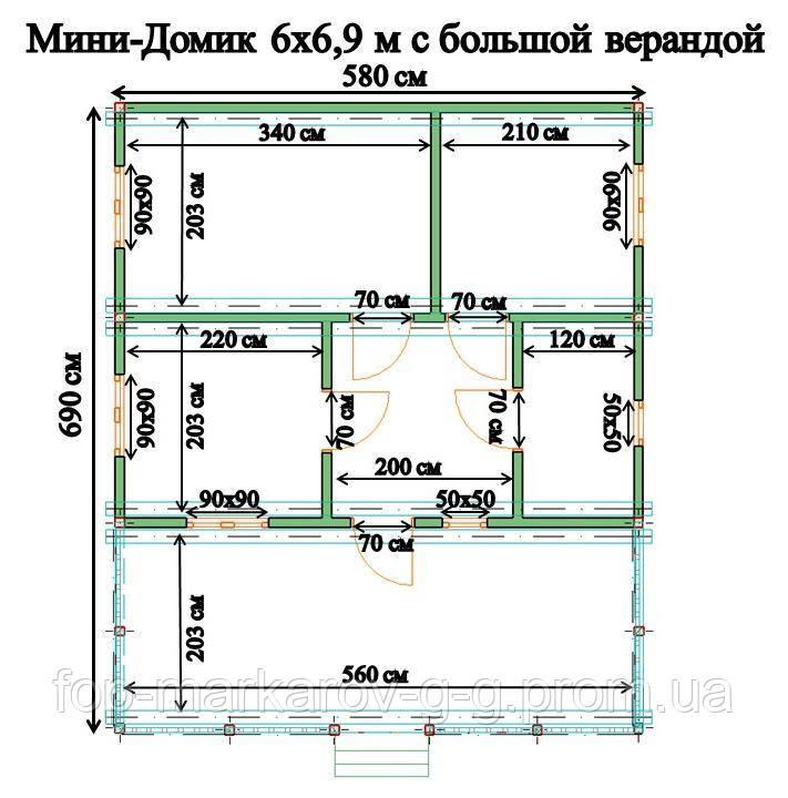 Дачный домик Подолье2