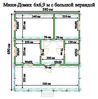 Дачный домик Подолье2, фото 1