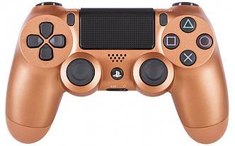 Геймпад джойстик беспроводной Sony PS4 Dualshock 4 V2 Metalic Cooper (Медь). Оригинал