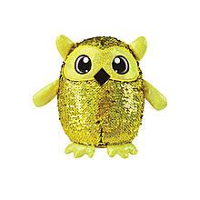 Мягкая игрушка с пайетками ОСТРОУМНАЯ СОВА «Shimmeez» (SH01053O)