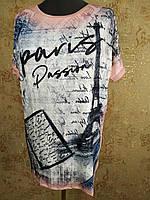 Туника летняя с коротким рукавом  2115, фото 1