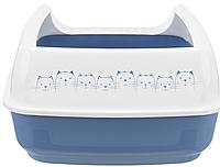 """Туалет для котов """"Delio"""" с бортиком 35 × 20 × 48 см Trixie"""
