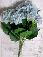 Гортензия латексная Премиум 54 см, голубая