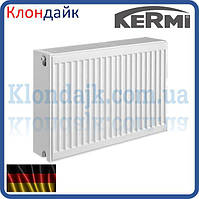 KERMI FKO стальной панельный радиатор тип 33 300х1100 боковое подключение