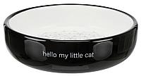 Миска керамічна 0,3 л для кішок з плоскою мордочкою Trixie