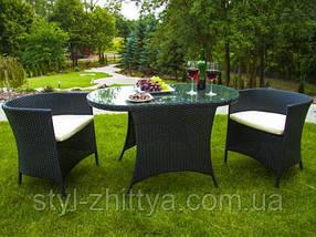 Комплект стіл + 2 крісла, фото 2