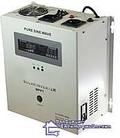Інвертор + контролер SOLAR INVERTER 1000VA, 12V MPPT30A , фото 1