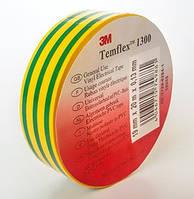 Изоляционная лента 3M Temflex 1300 желто-зеленая