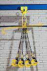 Строп цепной двухветочный от 1 до 32 тонны, длина от 1 до 10 метров, фото 2