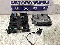 Блок управления двигателем комплект Citroen Berlingo 2008-2012 Ситроен Берлинго Сітроен Берлінго