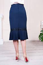 """Женская юбка """"Клара"""" размеры 48-62, фото 3"""