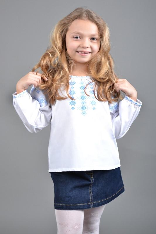 Вышиванка детская для девочки Д012-113, фото 1