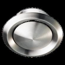 Анемостат металлический АМ 125 ВРФ Н (из нержавеющей стали)