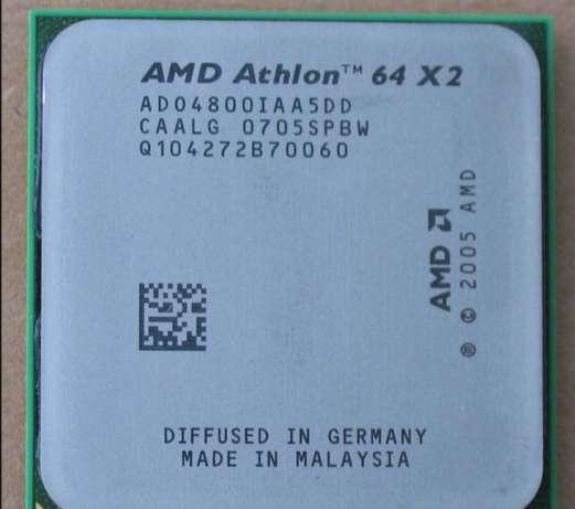 Процессор AMD Socket am2 на 2 ЯДРА ATHLON 64 X2 4800 ( 2 по 2.5 Ghz) sam2 am2+ 4800+ с ГАРАНТИЕЙ