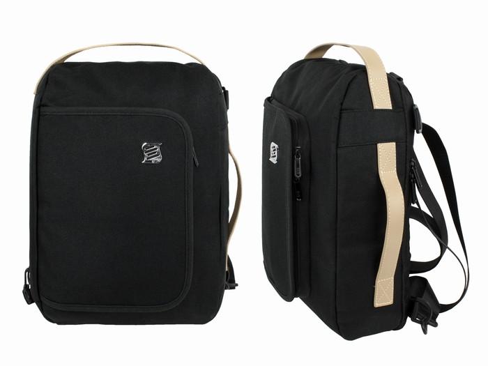 Рюкзак для ноутбука черный Dasfour