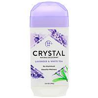 Натуральный дезодорант, лаванда и белый чай, Crystal Body Deodorant, 70 г, фото 1