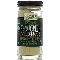 Органические семена пажитника, молотые, Frontier Natural Products, 2,00 унции (56 г)