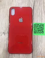 Glass case для iPhone XS Max красный