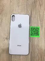 Glass case для iPhone XS Max белый
