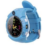 Смарт часы ERGO GPS Tracker Color C010 - Детский трекер (Blue)