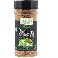 """Frontier Natural Products, Органический """"бекон"""", приправа для вегетарианцев, 2,47 унции (70 г)"""