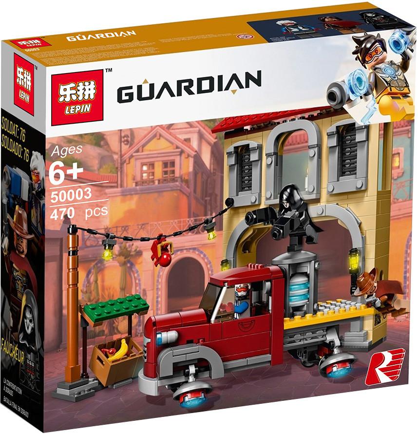 "Конструктор Lepin 50003 ""Бой Дорадо"" (аналог Lego Overwatch 75972), 470 дет"