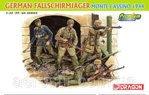 German Fallschirmjager Monte Cassino 1944 1/35 Dragon 6409