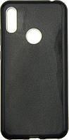 Чехол-накладка TOTO TPU Case Rose series 3 IN 1 Huawei Y6 2019 Black