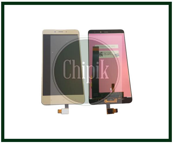 Дисплей для Xiaomi Redmi Note 4 з сенсорним екраном, золотий