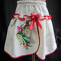 Юбка для девочки с вышивкой, от 2 до 14 лет, 140/115 (цена за 1 шт. + 25 гр.)