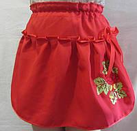 Юбка с вышивкой для девочки, от 2 до 14 лет, 140/115 (цена за 1 шт. + 25 гр.)
