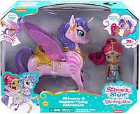 Кукла Шиммер с интерактивным единорогом Shimmer and Shine от Fisher-Price, фото 1