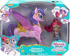 Лялька Шімер з інтерактивним єдинорогом Shimmer and Shine від Fisher-Price