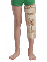 Бандаж на коленный сустав с ребрами жесткости с усиленной фиксацией MedTextile 6112 размер M-L