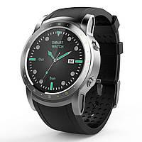 Умные часы с сенсорным экраном HW1 Smart Business Watch - GPS, 3G, Nano SIM. Фитнес браслет - пульс, шагомер.