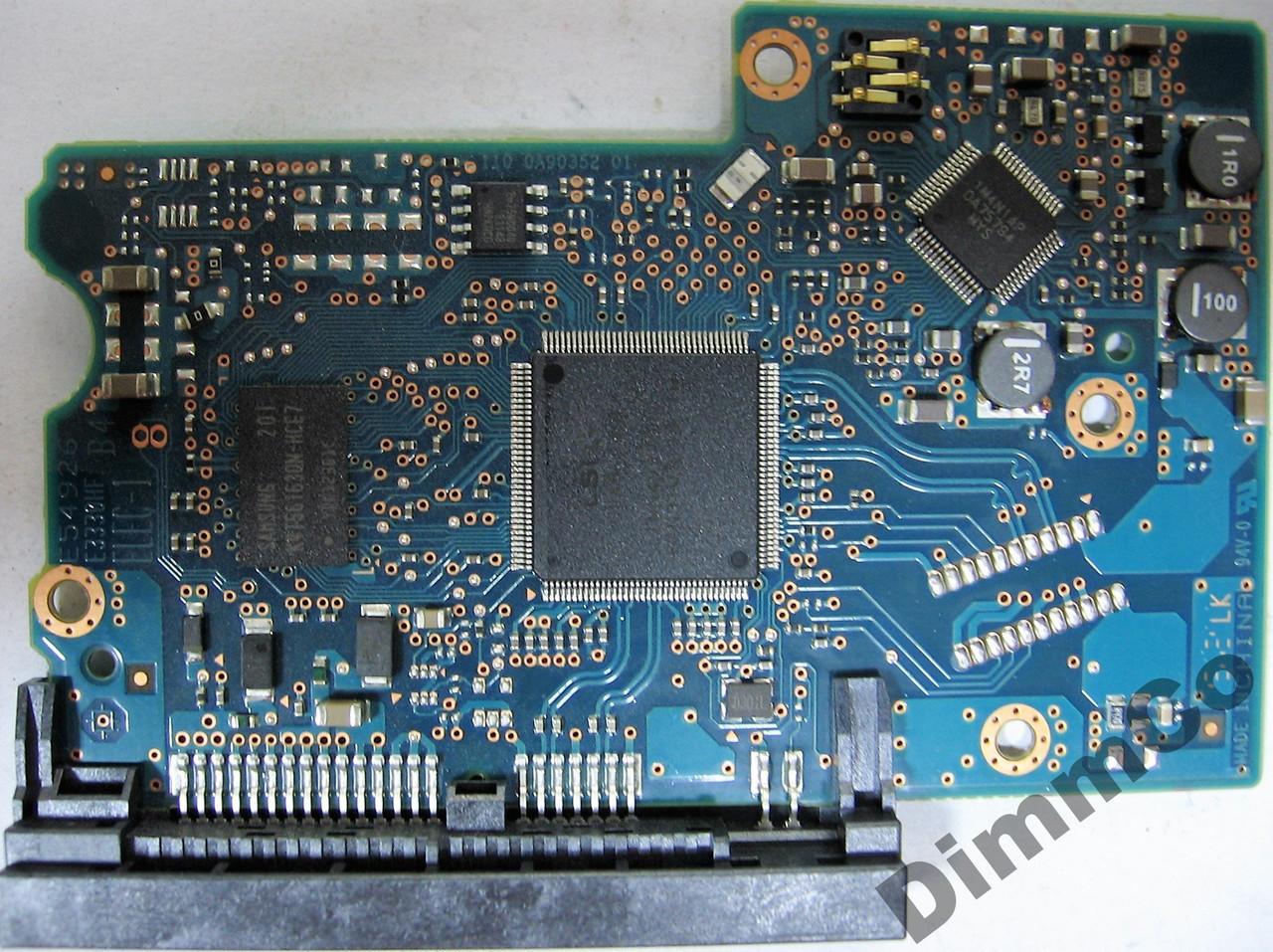 Плата HDD 1TB 7200rpm 32MB SATA III 3.5 Hitachi HDS721010DLE630 0A90352