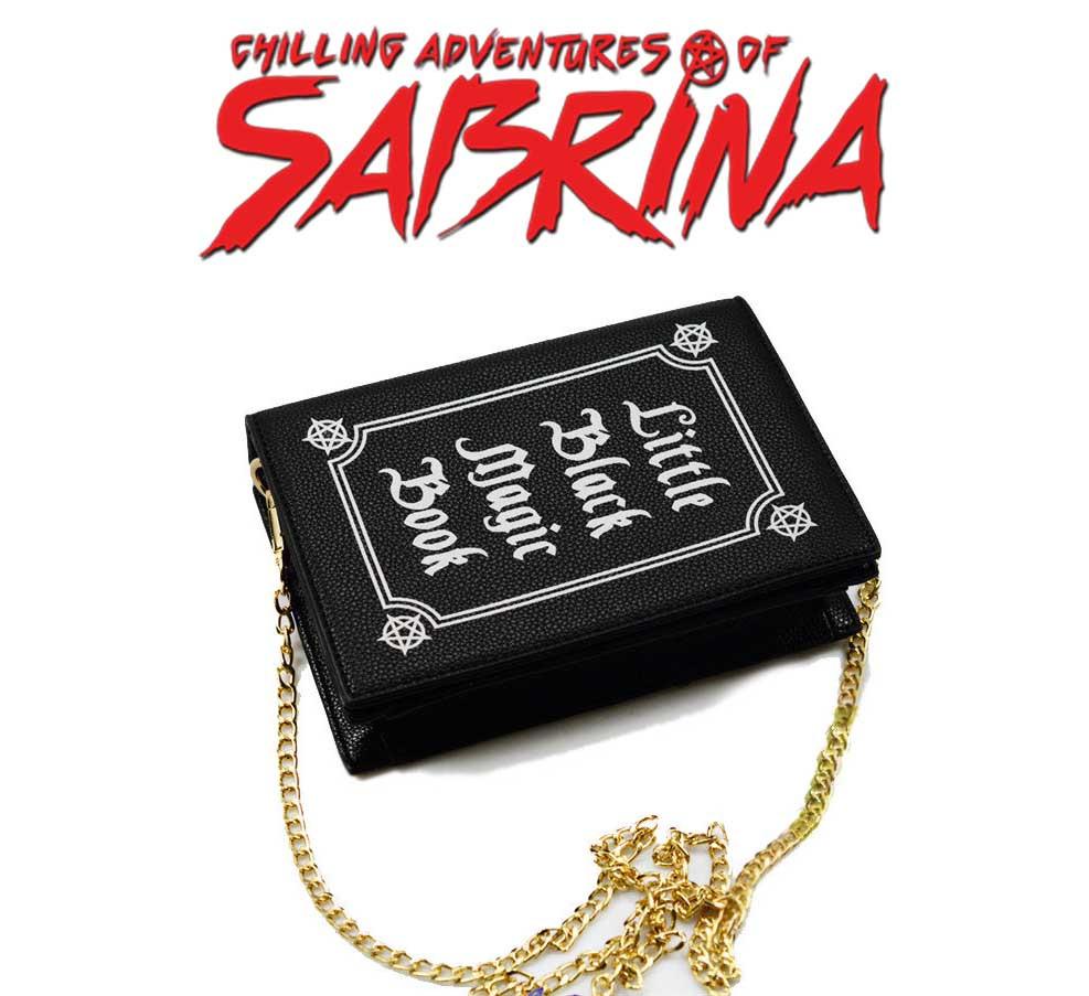 Сумка книга магии Little Black magic Book Леденящие душу приключения Сабрины