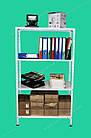Металлический стеллаж 1800х600х600 мм, 4 полки, стеллаж для хранения универсальный, фото 4