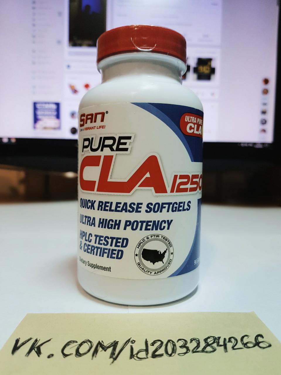Конъюгированная линолевая кислота SAN Pure CLA 1250 90 софт