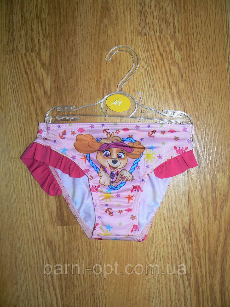 Плавки для девочек оптом, Disney, 1,1 рр.