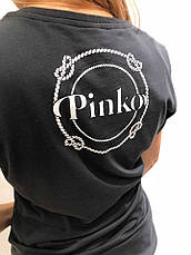 Футболка женская Pinko  Италия черная с русалкой , фото 3