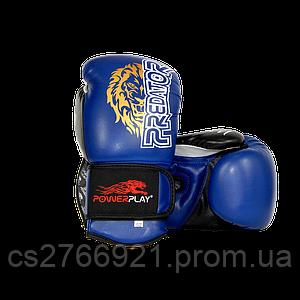 Боксерські рукавиці PowerPlay 3006 Сині