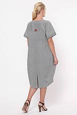 Сукня вільного силуету для повних Бріджит, фото 3