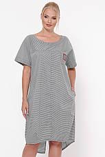 Сукня вільного силуету для повних Бріджит, фото 2